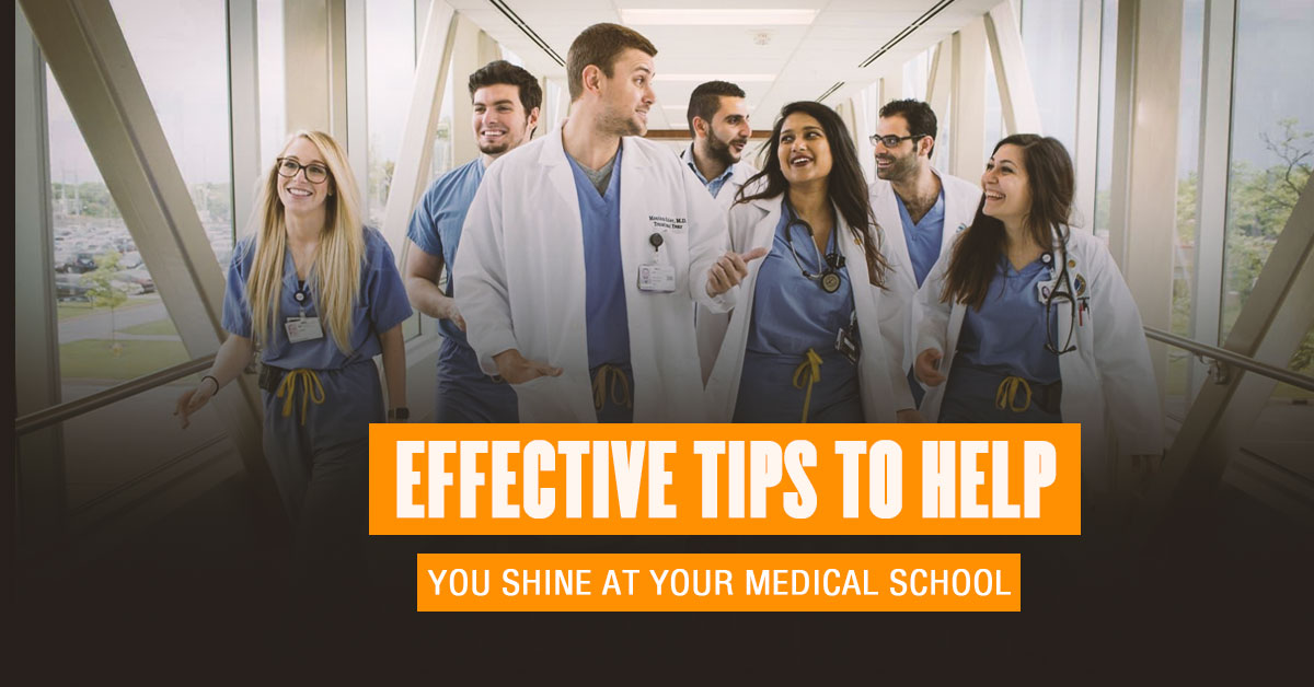 Tips To Crush It At Your Medical School