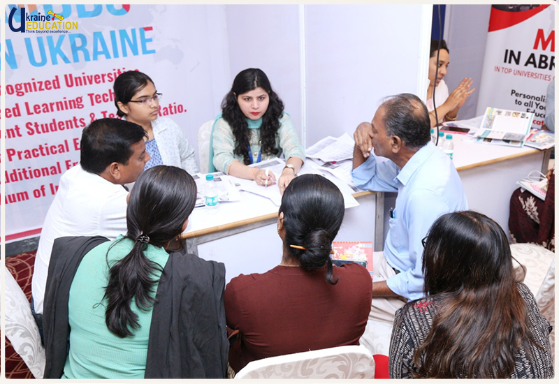Glimpses of Ukraine Education at MBBS Admission Ex